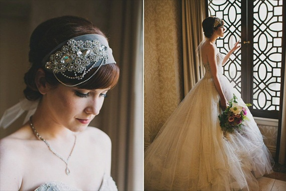 Gatsby Inspired 1920s Hair Accessories (by Gilded Shadows, Photo by Heidi Ryder, model Haley O'Conner)