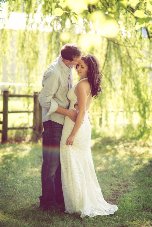 backless wedding dress two