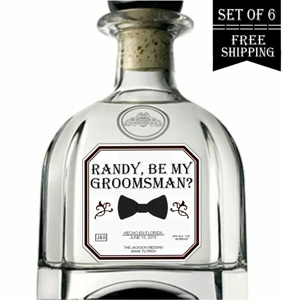 be my groomsman patron label