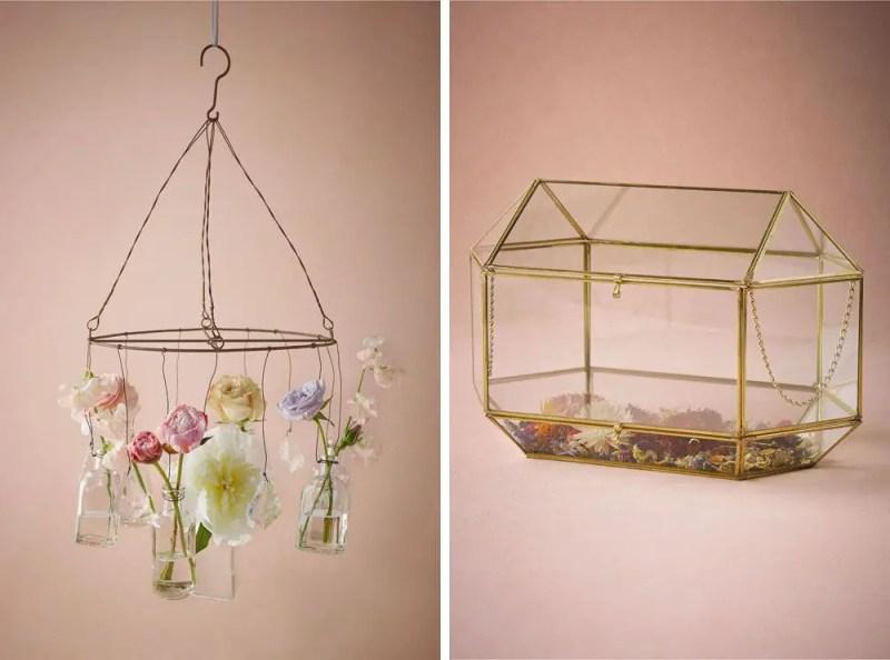 Floral Inspired Decor | via BHLDN Decor Ideas | http://emmalinebride.com/vintage/bhldn-decor-ideas-weddings/