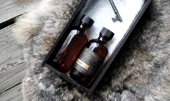 birch tar beard oil