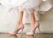 blush platforms wedding shoes for bride   via http://emmalinebride.com/bride/wedding-shoes-for-bride/