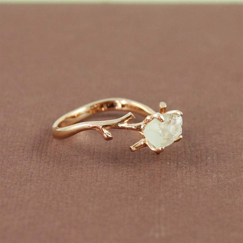 branch engagement ring inspiration
