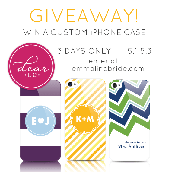 bridal iphone case giveaway