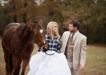 bride plaid shirt