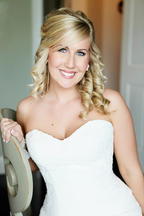 bride (photo: deanna casey photography) via Bridal Makeup Tips