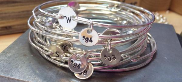 bridesmaid bracelet idea