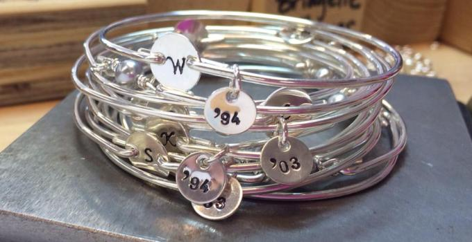 bridesmaid bracelet idea