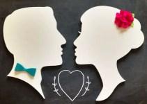 cameo-wall-decor-silhouette-bride-groom