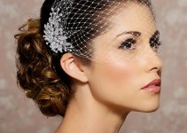 cap-veil-hair-updo