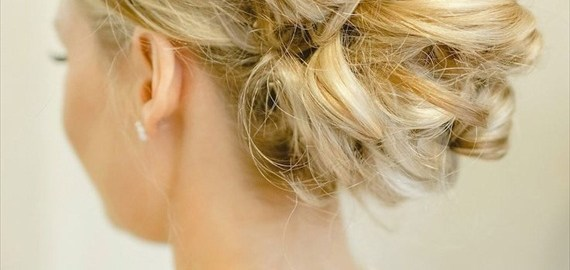 chic hair bun hairstyle