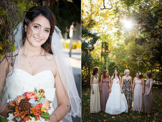 Leah Marie Landers Photography - Fayetteville Fall Wedding