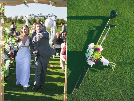 Matthew Steed Wilson Photography - married and walking up the aisle