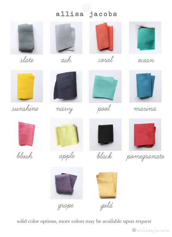 color choices for clutches by allisa jacobs