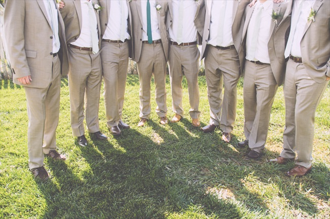 The Groomsmen | Photo: Searching for the Light Photography LLC | via http://emmalinebride.com/real-weddings/colorado-chic-wedding-kendall-brian/