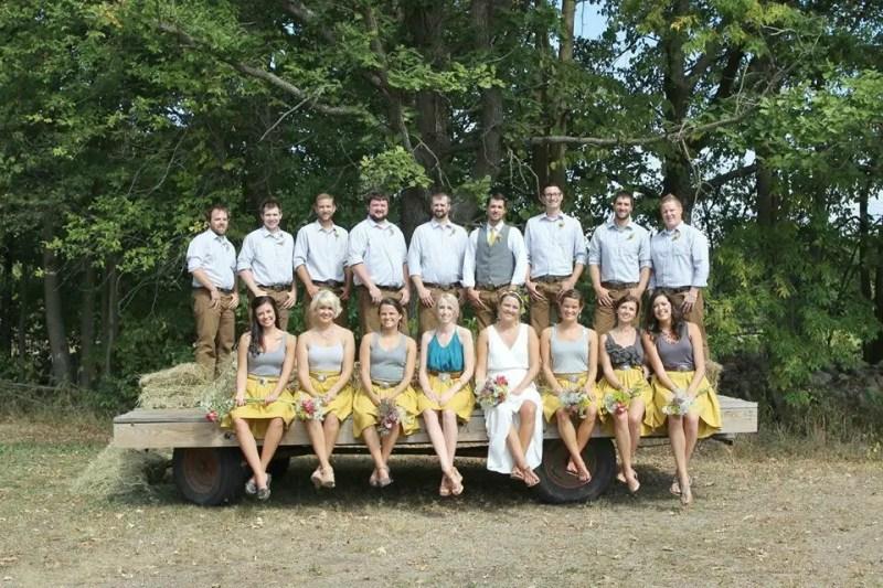 custom bridesmaid skirts