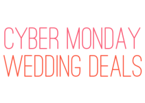 cyber monday wedding deals