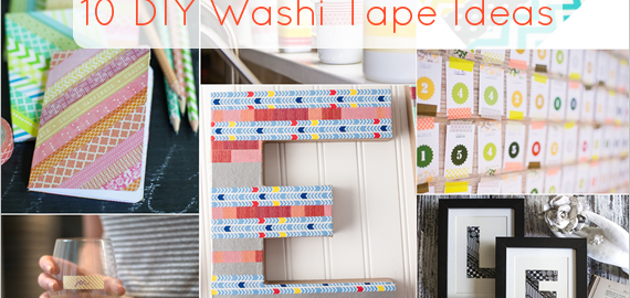 diy washi tape ideas