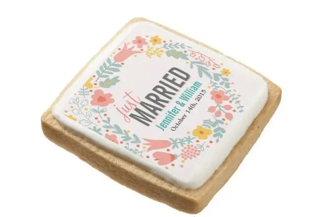 easy diy wedding ideas cookies