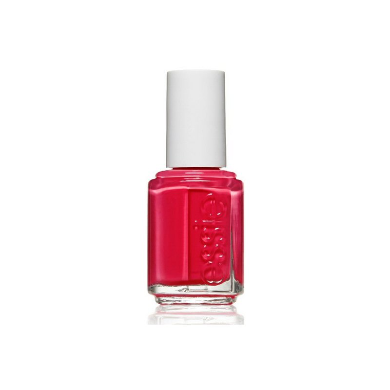 essie haute in the heat nail polish | Nail Polish Bridal Shower Favors | via http://emmalinebride.com/favors/nail-polish-bridal-shower-favors/ | cute idea!