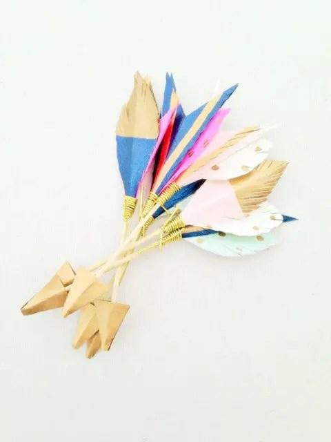 feathers with polka dots   via polka dot wedding ideas http://emmalinebride.com/themes/polka-dot-wedding-ideas-handmade/
