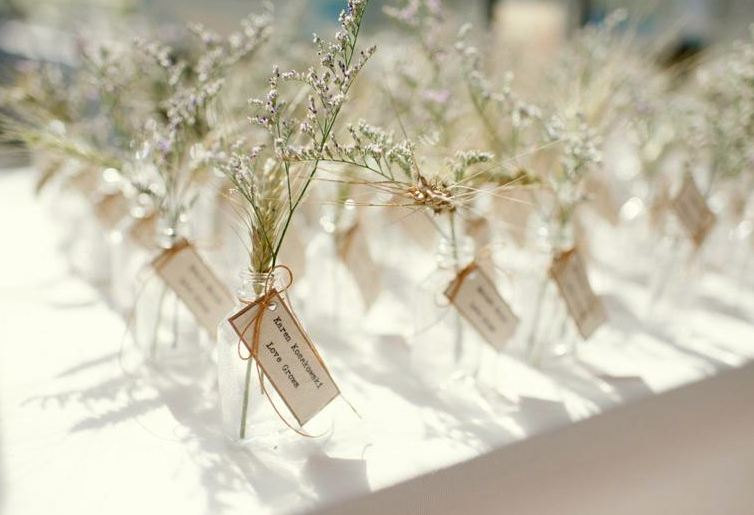 flower vase favors
