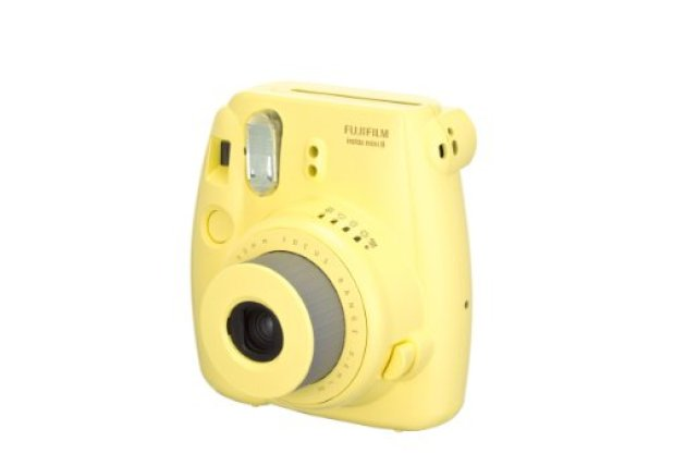 Instant Photo Camera in Yellow