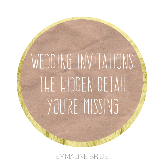 invitation detail you re missing