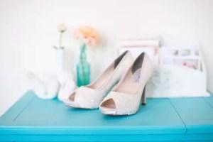 Lace Wedding Shoes   Becca & Louise via EmmalineBride.com