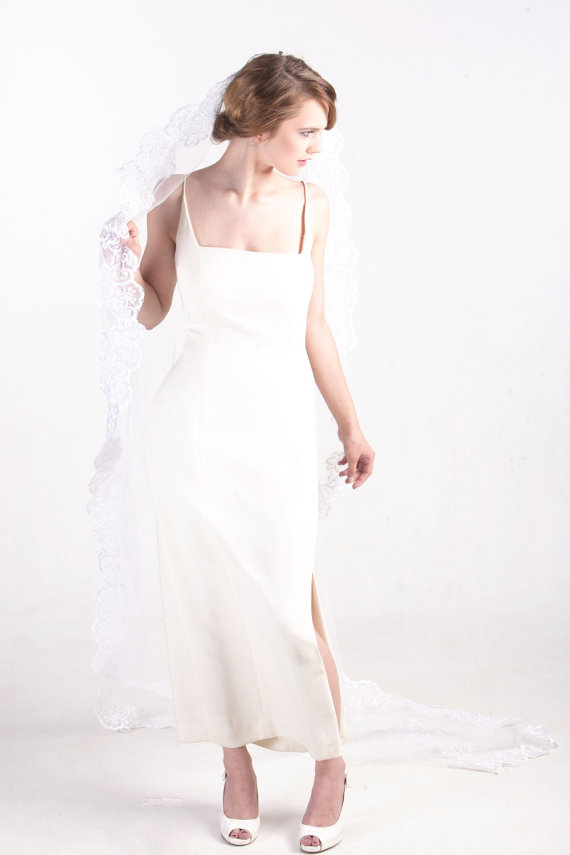 lace veil mantilla