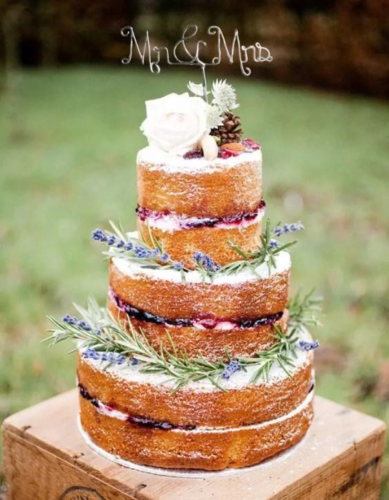 le rustic chic wire cake topper