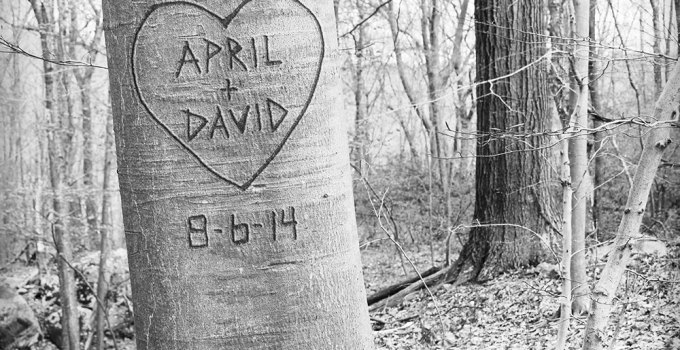 love tree personalized print