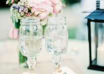 mason jar toasting glasses