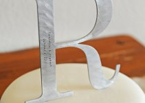 metal monogram wedding cake topper (2)