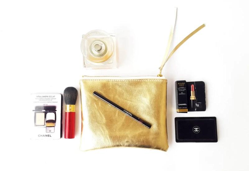 metallic cosmetic bag | by Razolly
