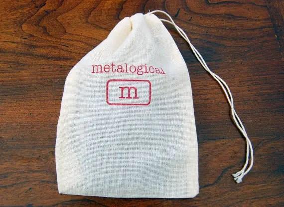 Bag by Metalogical (Gift Bag for Belt Buckle Bottle Opener)