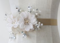 millinery flower sash