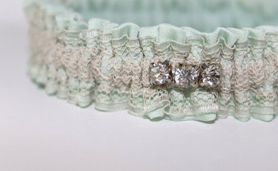 mint-silk-wedding-garter