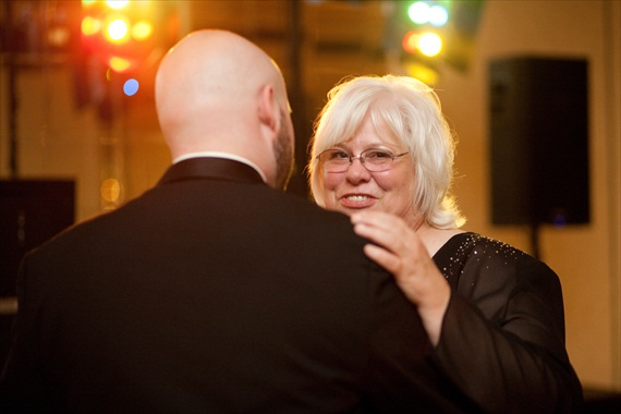 Fall Wedding - mother son dance