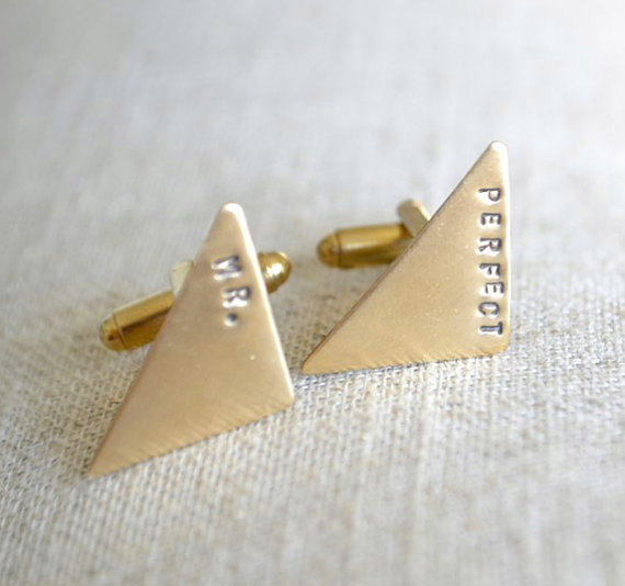 Gold Wedding Inspiration (mr. perfect cuff links: white truffle studio)