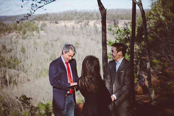 My Tiny Wedding - red river gorge wedding