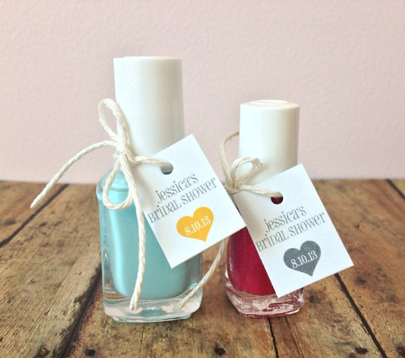 nail polish favors favor tags (by print smitten)