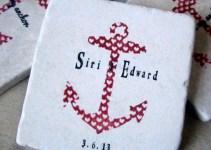 nautical anchor coasters big