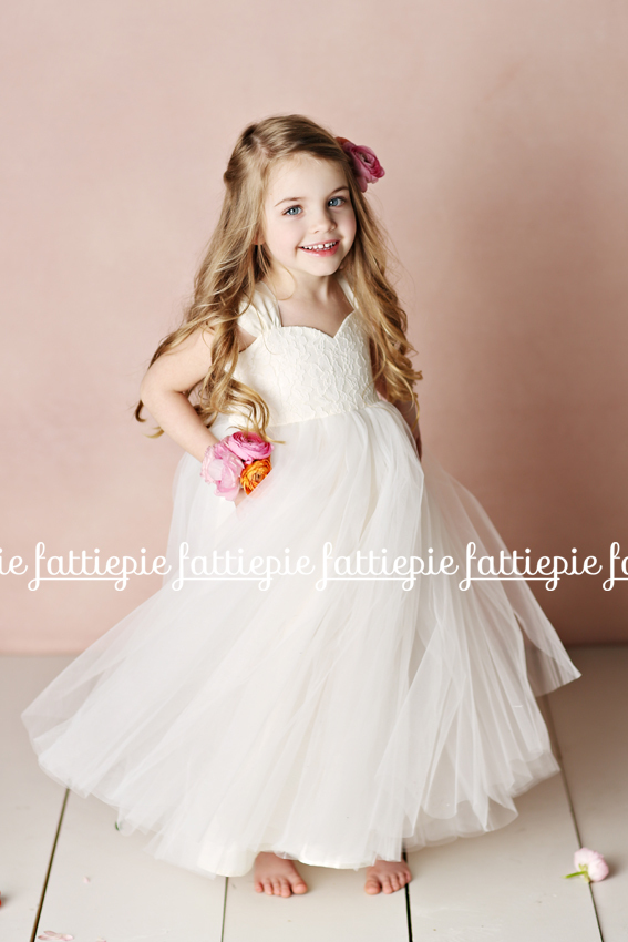 olivia flower girl dress (by Fattie Pie) - formal flower girl dresses #wedding