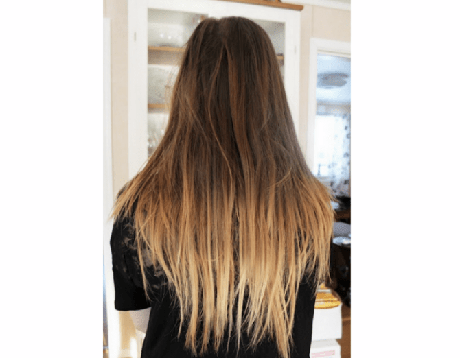 ombre hair for under 10 | via 30 Best Ombre Wedding Ideas