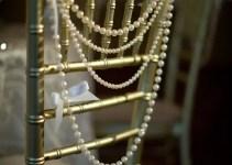 pearls as chair backs