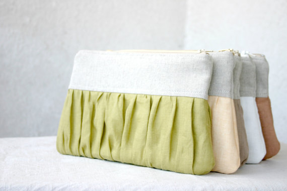 pleated clutch purse assortment