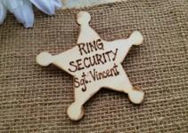 ring bearer badges - sargeant