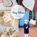 ring bearer pillow ideas alternatives