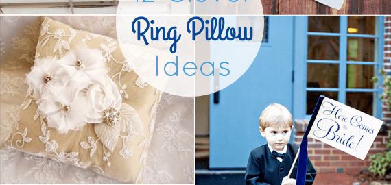 ring bearer pillow ideas alternatives